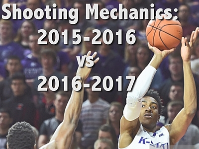 Wesley Iwundu Shooting Mechanics Analysis 2015-2016 to 2016-2017