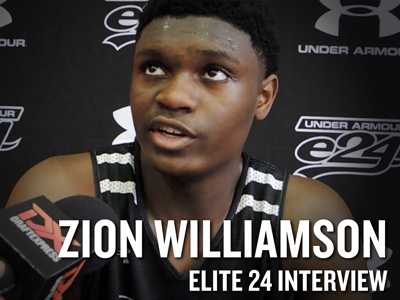 2016 Elite 24 Interviews: Zion Williamson and Silvio De Sousa