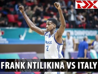 Matchup Video: Frank Ntilikina vs Italy - U18 Euro Championship Semis