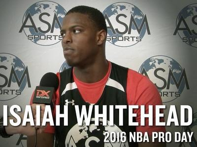 Isaiah Whitehead Interview and Highlights from ASM Sports Pro Day