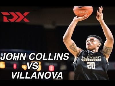 John Collins vs Villanova Matchup Video